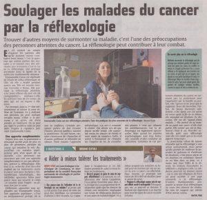 Soulager les malades du cancer par la réflexologie