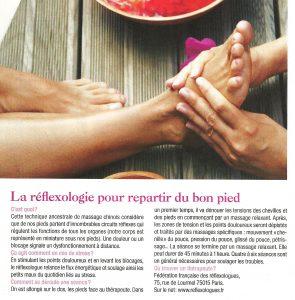 La réflexologie pour repartir du bon pied