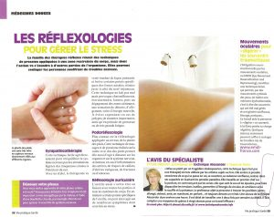 Les réflexologies pour gérer le stress
